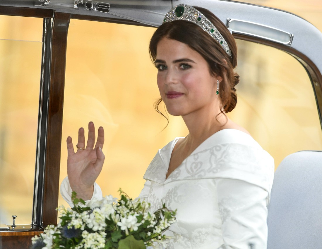 Princess of Eugenie of York and Mr Jack Brooksbank Wedding