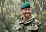 The Duke Of Sussex Carries Out Green Beret Presentation