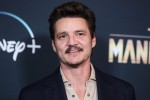 Actor Pedro Pascal arrives at the Los Angeles Premiere Of Disney+'s 'The Mandalorian' held at the El Capitan Theatre on November 13, 2019 in Hollywood, Los Angeles, California, United States.