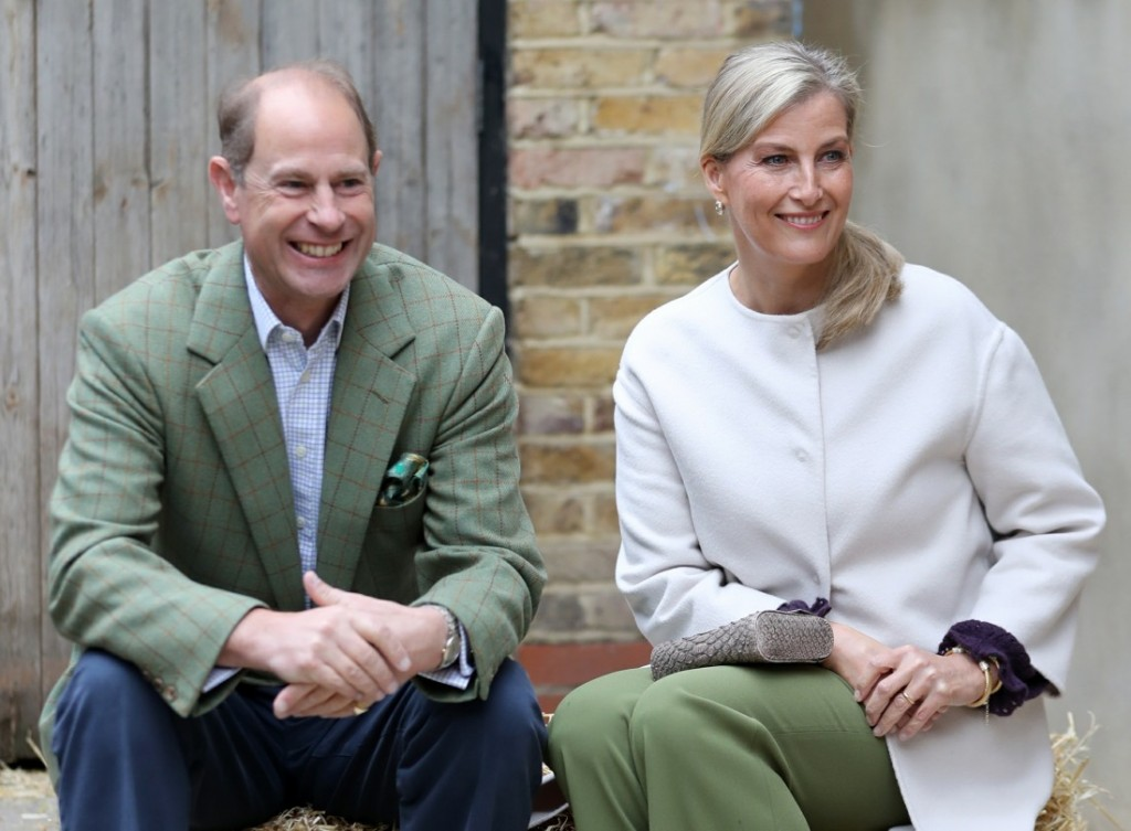 The Earl And Countess Of Wessex Visit Vauxhall City Farm