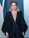 Olivia Wilde attends the Vanity Fair Oscar Party at Wallis Annenberg Center for the Performing Arts...