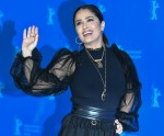 "26 February 2020, Berlin: 70th Berlinale, Photocall, Competition, ""The Roads Not Taken"": Salma Hayek..."