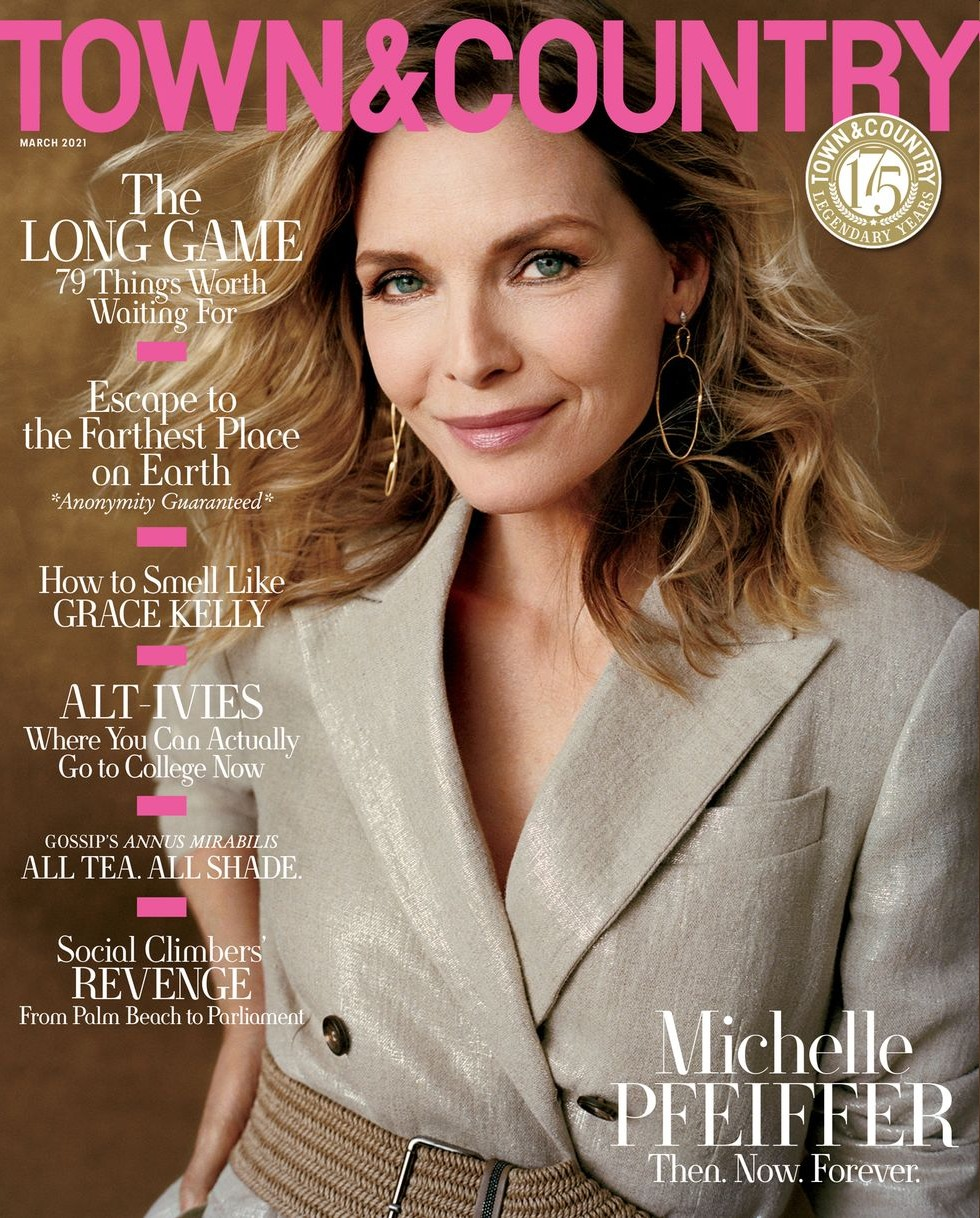 Michelle Pfeiffer: 'It's easier to have a French exit these days than it was many years ago'