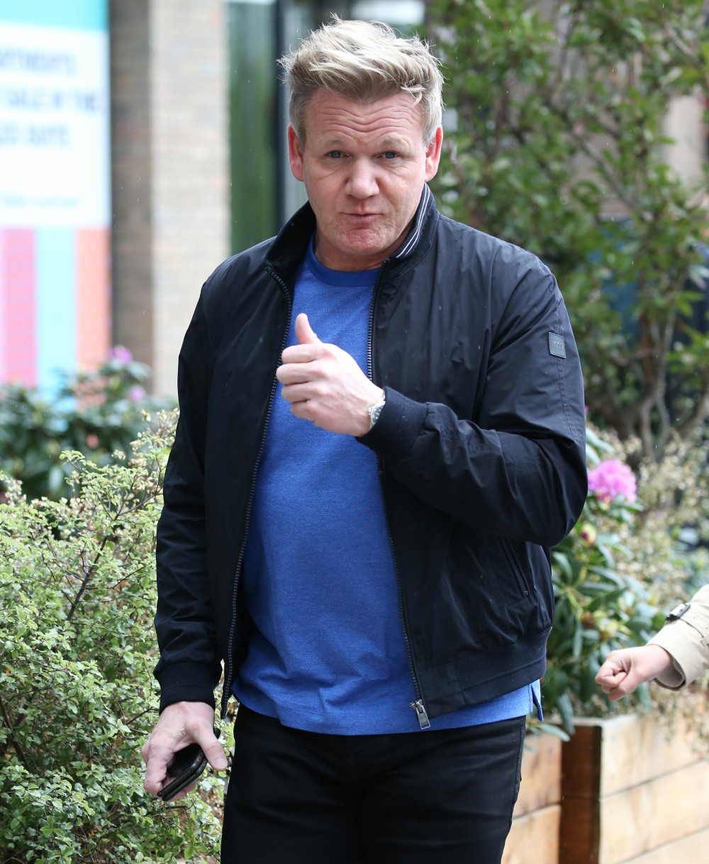 Gordon Ramsay, 55, was stunned to learn that he has arthritis in his knees
