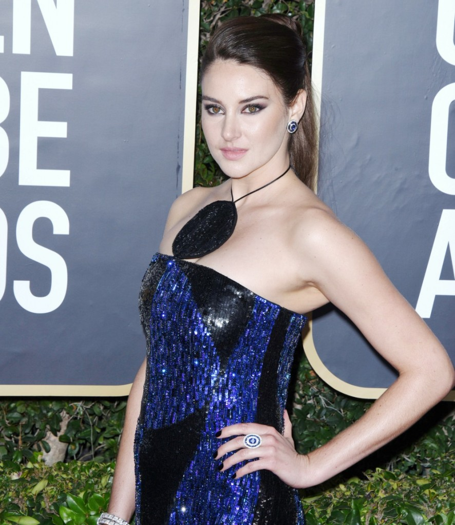 Shailene Woodley attends the 77th Annual Golden Globe Awards at The Beverly Hilton Hotel on January 05, 2020 in Beverly Hills, California