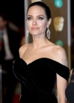 Angelina Jolie arrives at the EE British Academy Film Awards, Bafta Awards, at the Royal Albert Hall in London, England, Great Britain, on 18 February 2018.    - NOWIRESERVICE- Photo: Hubert Boesl/Hubert Boesl/
