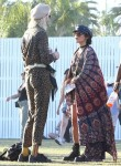 Vanessa dances it out at Coachella Weekend Two with friends