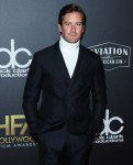 Armie Hammer wears Calvin Klein at the 22nd Annual Hollywood Film Awards