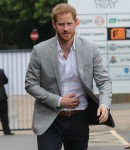Prince Harry visits the Black Prince Trust in Lambeth