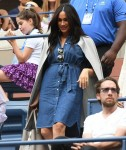 Meghan Markle in the stands of the women's final at the US Open 2019 tournament in New York