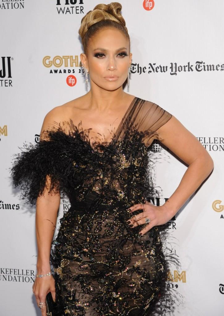 Jennifer Lopez at the 2019 IFP Gotham Awards