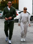 Jennifer Lopez and Alex Rodriguez step out for a casual afternoon in Miami