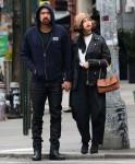 Nicolas Cage and girlfriend Riko Shibata use hand sanitizer amid Coronavirus outbreak in NYC