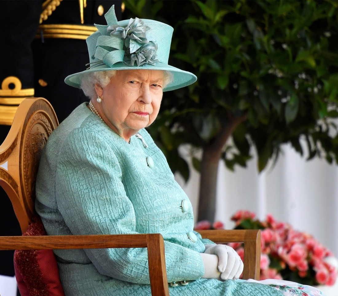 The Queen attends a ceremony to mark her Official Birthday