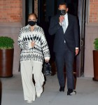 Jennifer Lopez and Alex Rodriguez step out for a dinner date in NYC