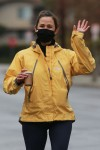 Jennifer Garner enjoys a morning walk with a friend