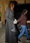 Angelina Jolie has dinner with her daughter Zahara at Craig's