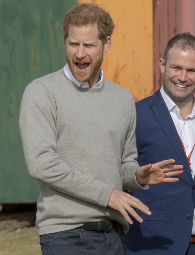 The Duke of Sussex, Patron, visited the Rugby Football Union (RFU) All Schools programme at Lealands High School in Luton