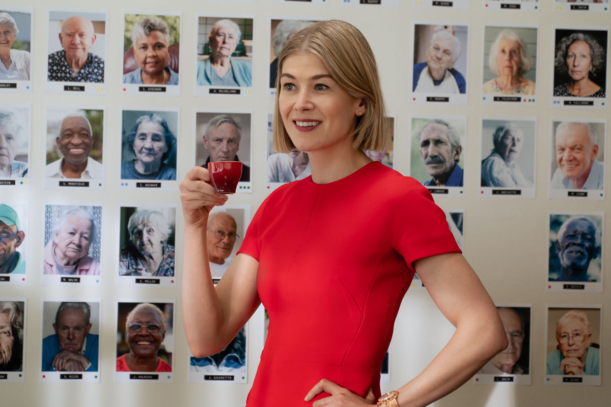 Rosamund Pike on photoshopping: 'We're losing our grip on what we really look like'