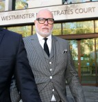 Gary Goldsmith turns up to court for sentencing