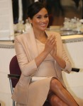 Meghan,The Duchess of Sussex visits The National Theatre in London SE1 today.The Duchess is the Patron of The National Theatre.