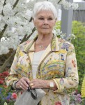Dame Judi Dench at the RHS Chelsea Flower Show on Press Day - 20 May 2019.