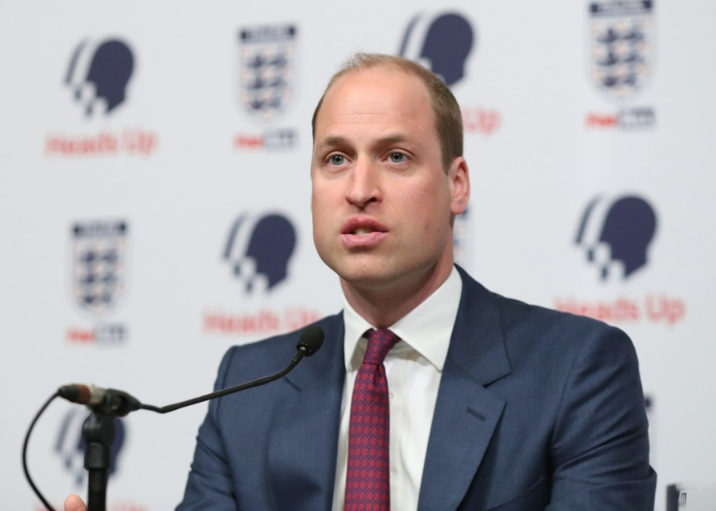 Duke Of Cambridge At The Launch Of New Mental Health Campaign