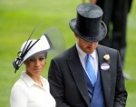 Royal Ascot, United Kingdom, Prince Harry, Duke of Sussex and his wife Meghan, Duchess of Sussex