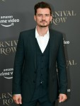 """Actor Orlando Bloom comes to the Astor Film Lounge to perform the Amazon series """"Carnival Row"""". Photo: Jens Kalaene/-Zentralbild/"""