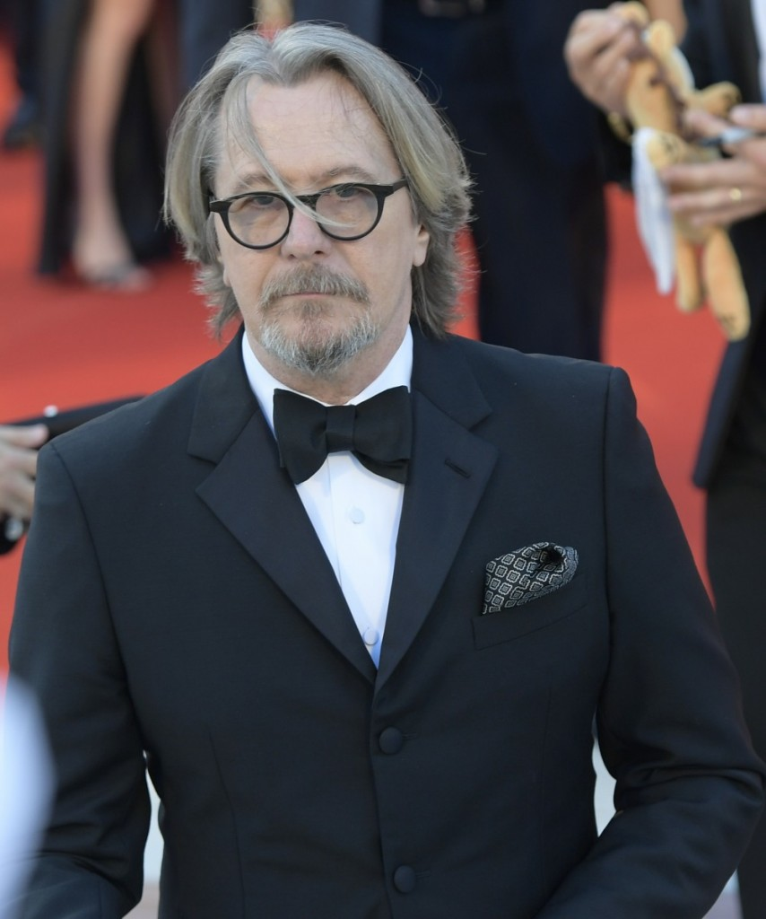 Gary Oldman during the Red carpet of film ' The laundromat ' at the 76th Venice Film Festival, Venice, ITALY-01-09-2019