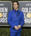 Sacha Baron Cohen attends the 77th Annual Golden Globe Awards, Golden Globes, at Hotel Beverly Hilton in Beverly Hills, Los Angeles, USA, on 05 January 2020. | usage worldwide