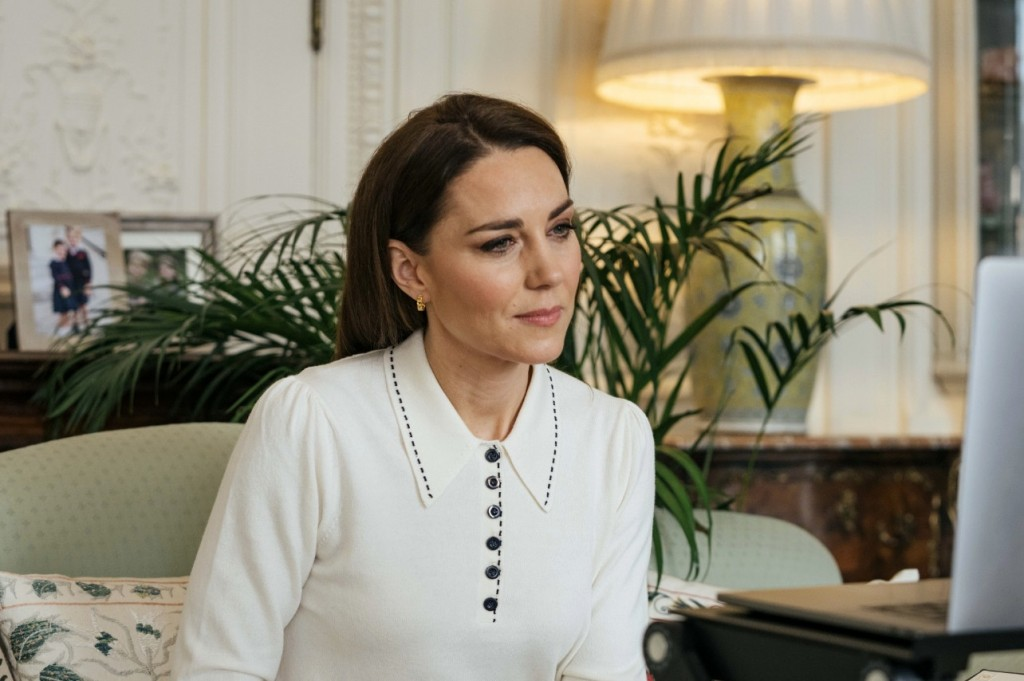 THE DUCHESS OF CAMBRIDGE MARKS 5TH ANNIVERSARY OF LONDON BABY BANK LITTLE VILLAGE
