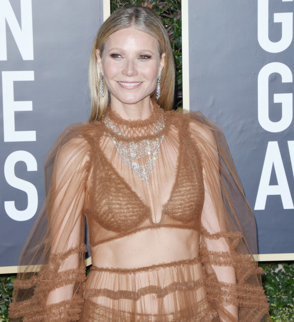 Gwyneth Paltrow attends the 77th Annual Golden Globe Awards at The Beverly Hilton Hotel on January 05, 2020 in Beverly Hills, California © Jill Johnson/jpistudios.com