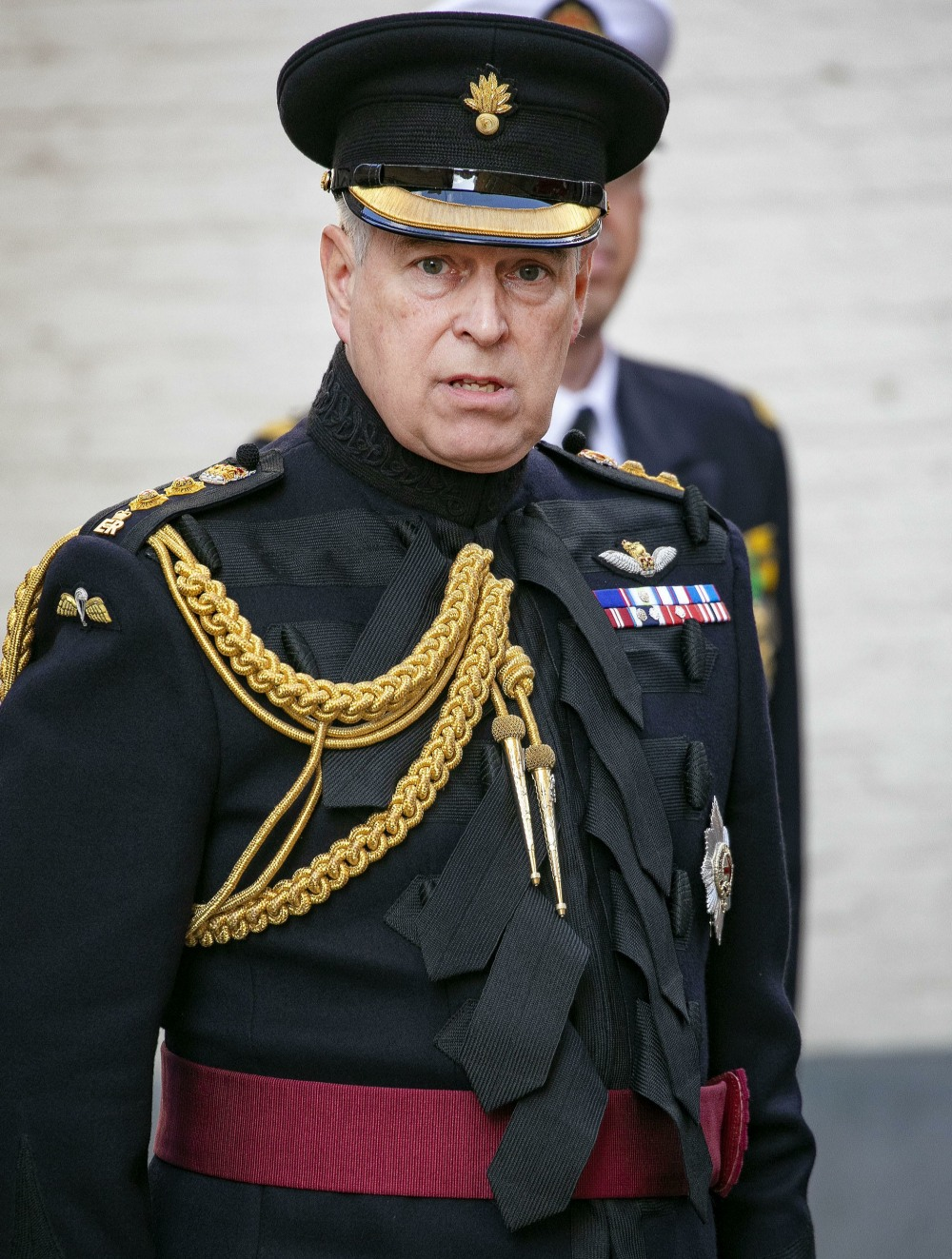 Prince Andrew celebration of 75 years of liberation of Brugge