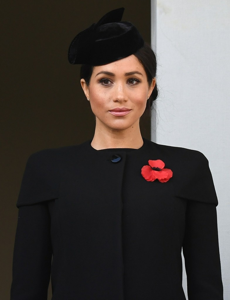 The Royal Family attend the Remembrance Sunday Service