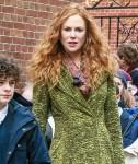 Nicole Kidman Looks incredible in red hair filming 'The Undoing'