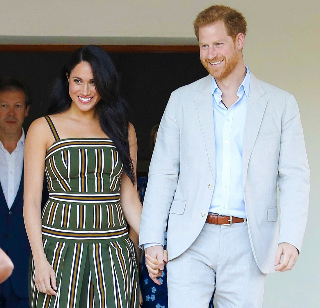 Prince Harry and Meghan Duchess of Sussex visit to Africa