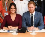 Meghan Markle, Duchess of Sussex, and Prince Harry, Duke of Sussex, attend a roundtable discussion on gender equality!