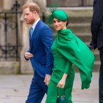 Prince Harry and Meghan Markle attend the annual Commonwealth Day Service