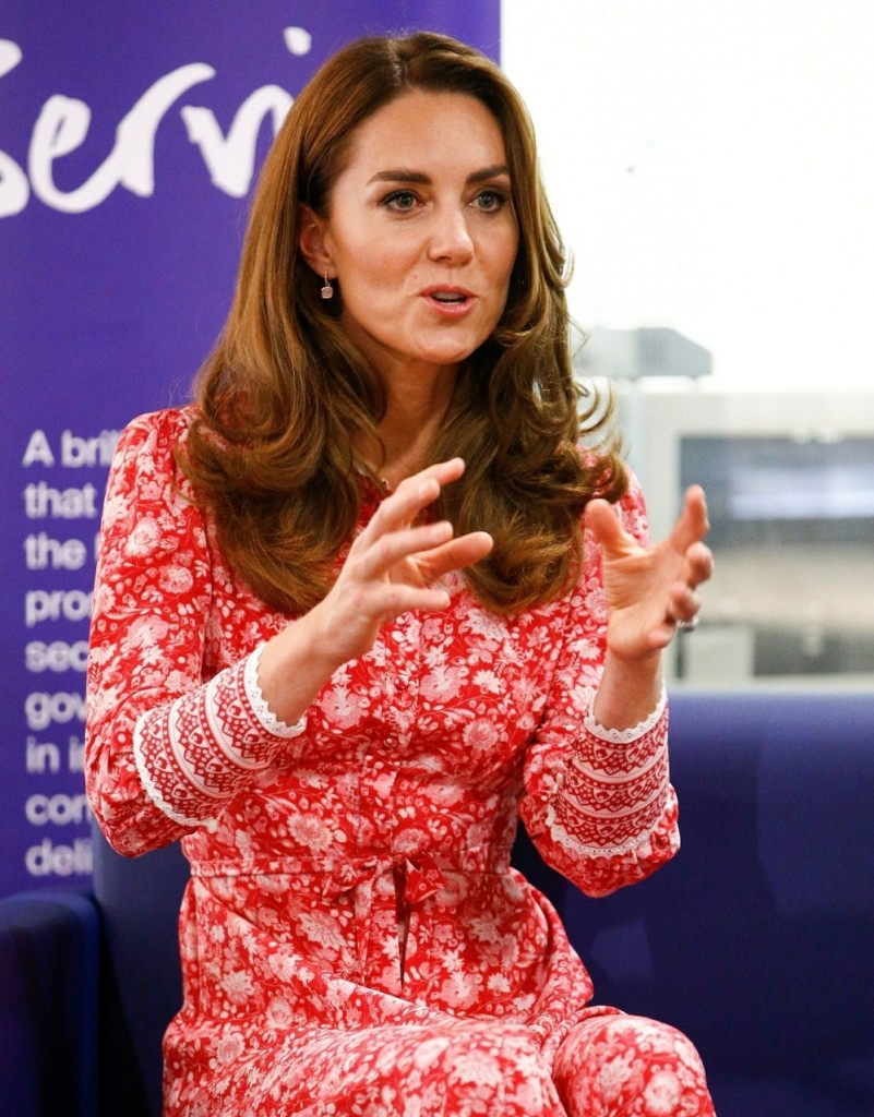 The Duke and Duchess of Cambridge visit the London Bridge Jobcentre