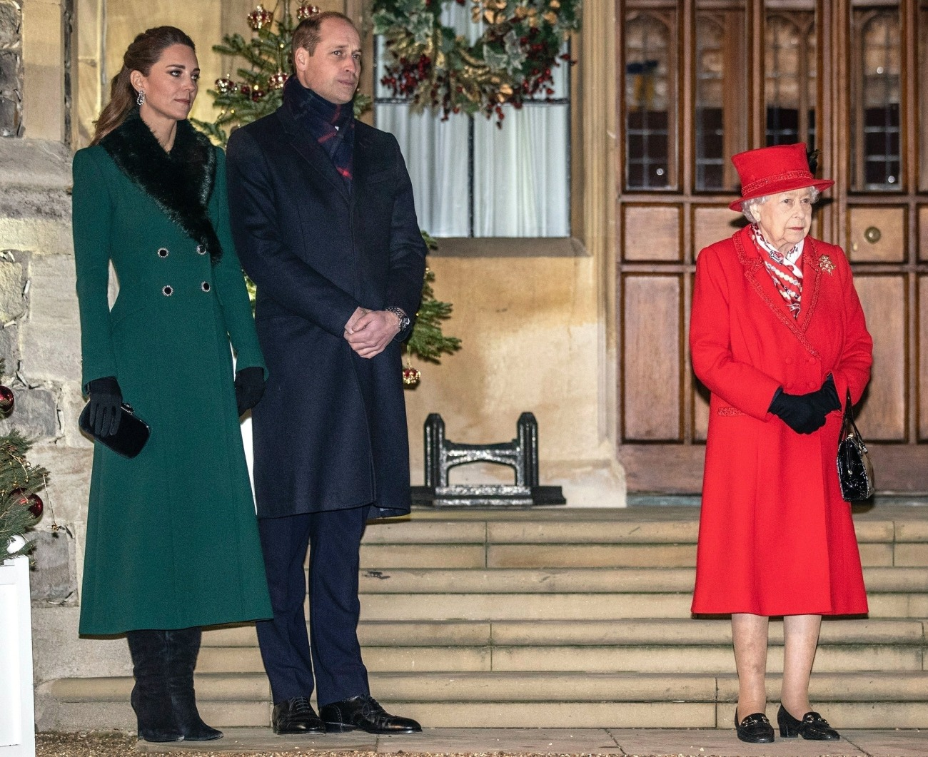 The Royal Family thank Key Workers at Windsor Castle