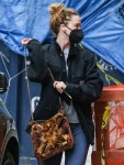 Jennifer Lawrence dressed down while out and about in New York