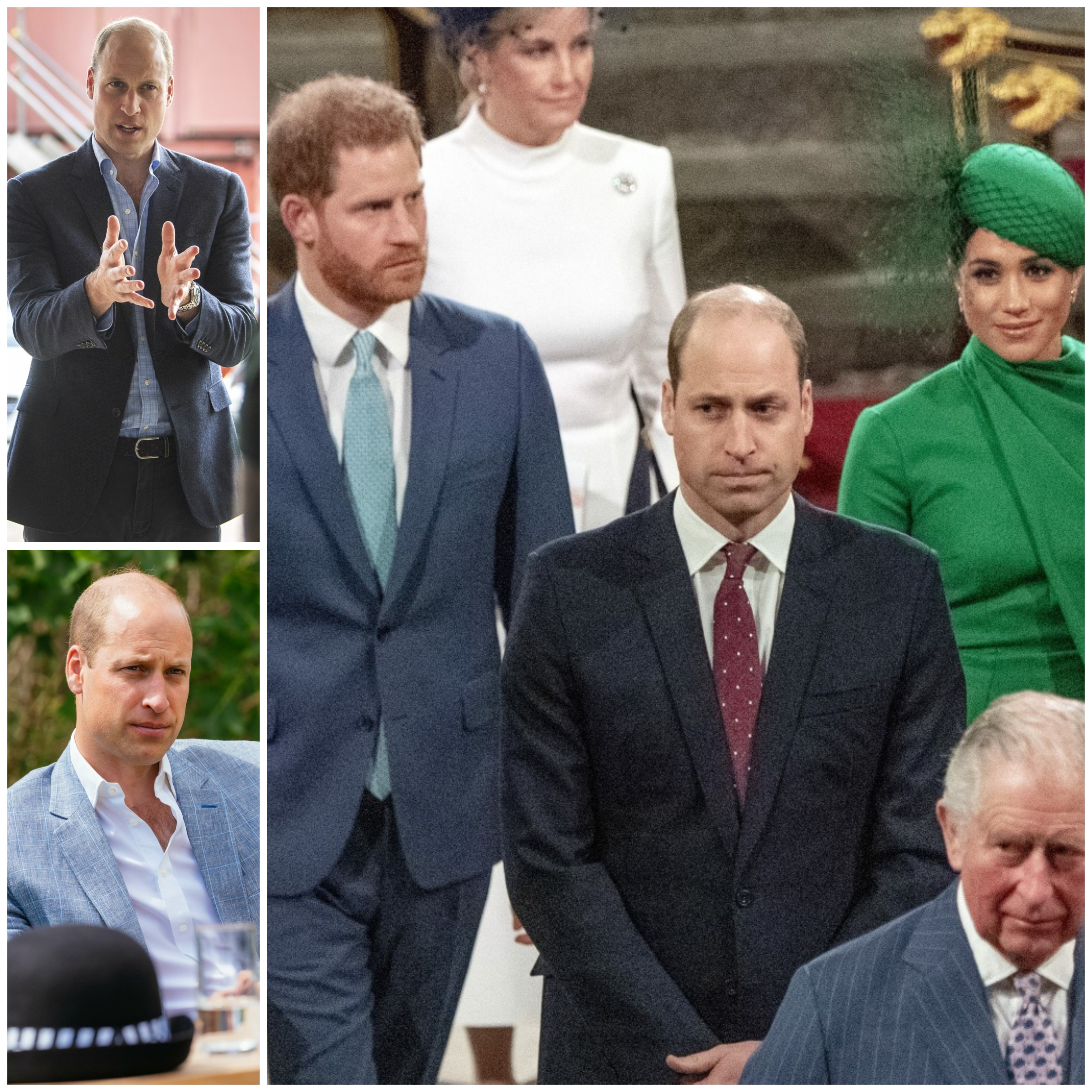 Collage of Prince William