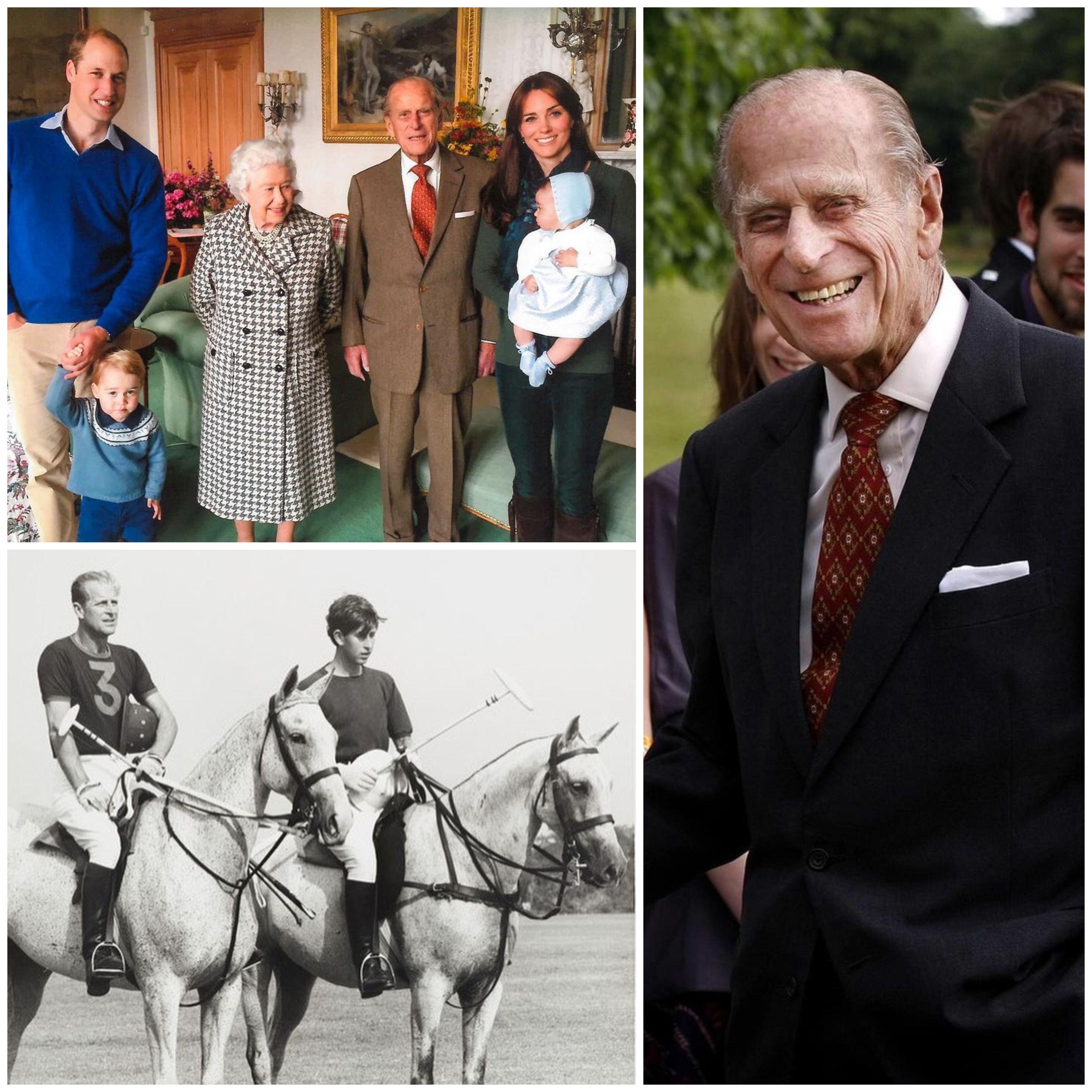 Photos of Prince Philip released by The Windsors
