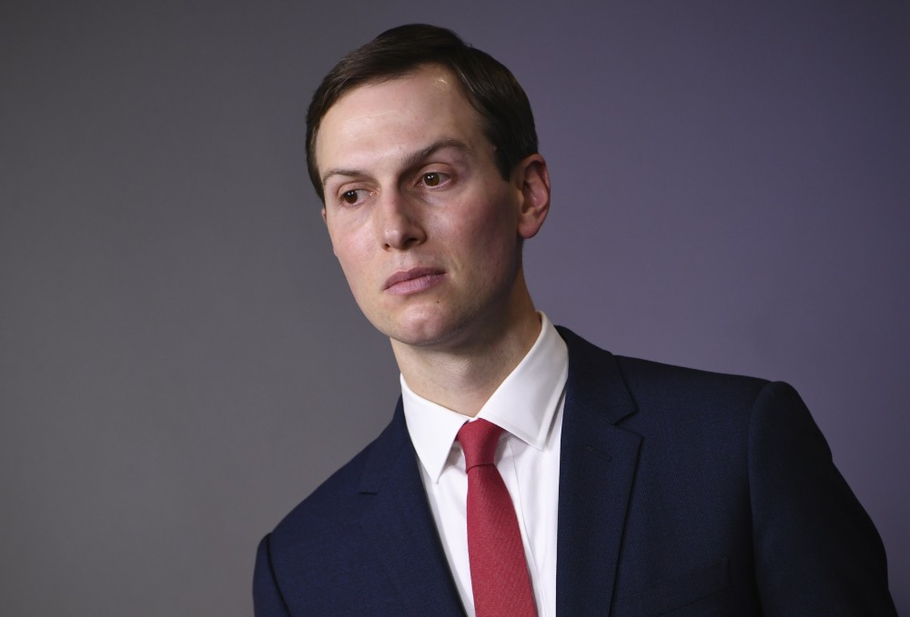 Kushner at Coronavirus hearing at the White House