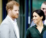 Meghan Markle and Prince Harry, the duke and duchess of Sussex visiting Edes house in Chichester in west Sussex