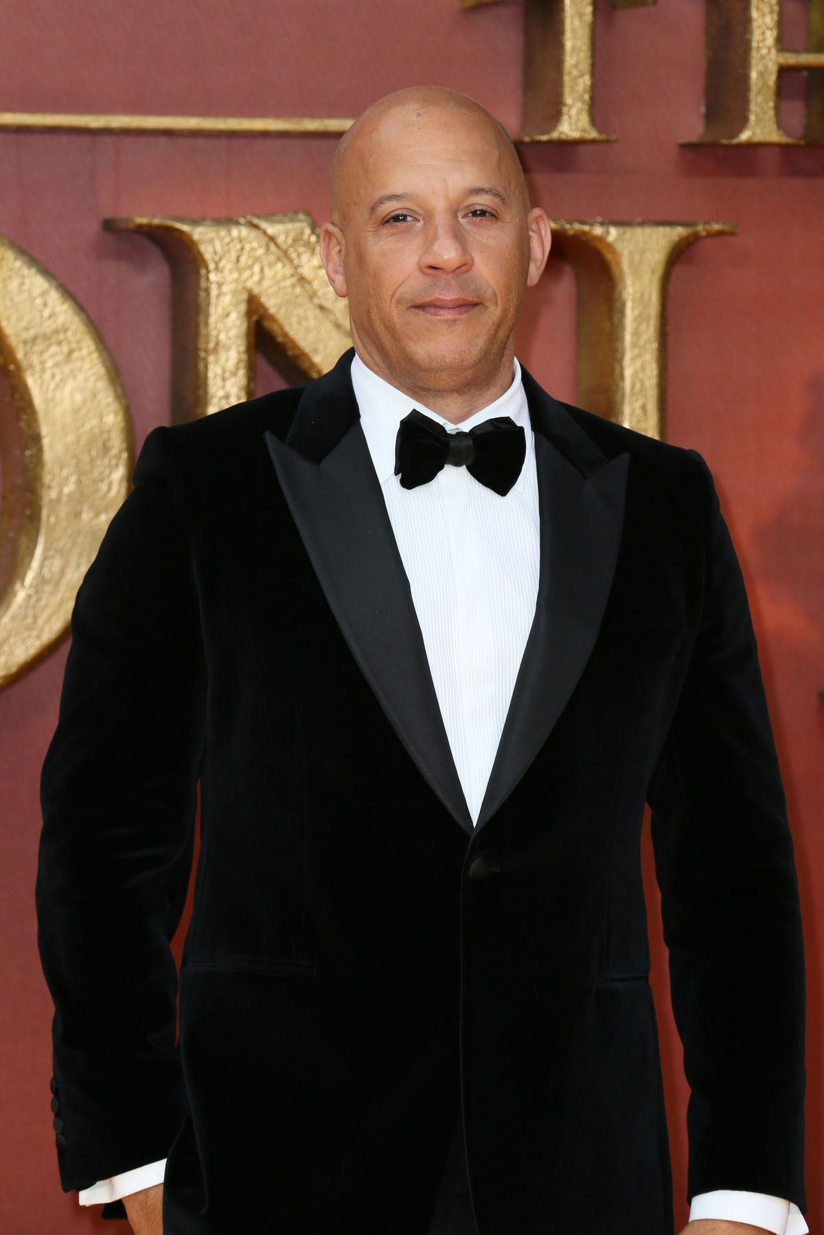 Vin Diesel at The European Premiere of 'The Lion King' held at the Odeon Luxe, Leicester Square