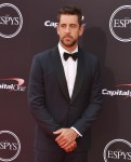 Aaron Rodgers at the 2018 ESPYS at Microsoft Theater at L.A. Live in Los Angeles