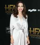 Angelina Jolie at the 21st Annual Hollywood Film Awards at The Beverly Hilton Hotel
