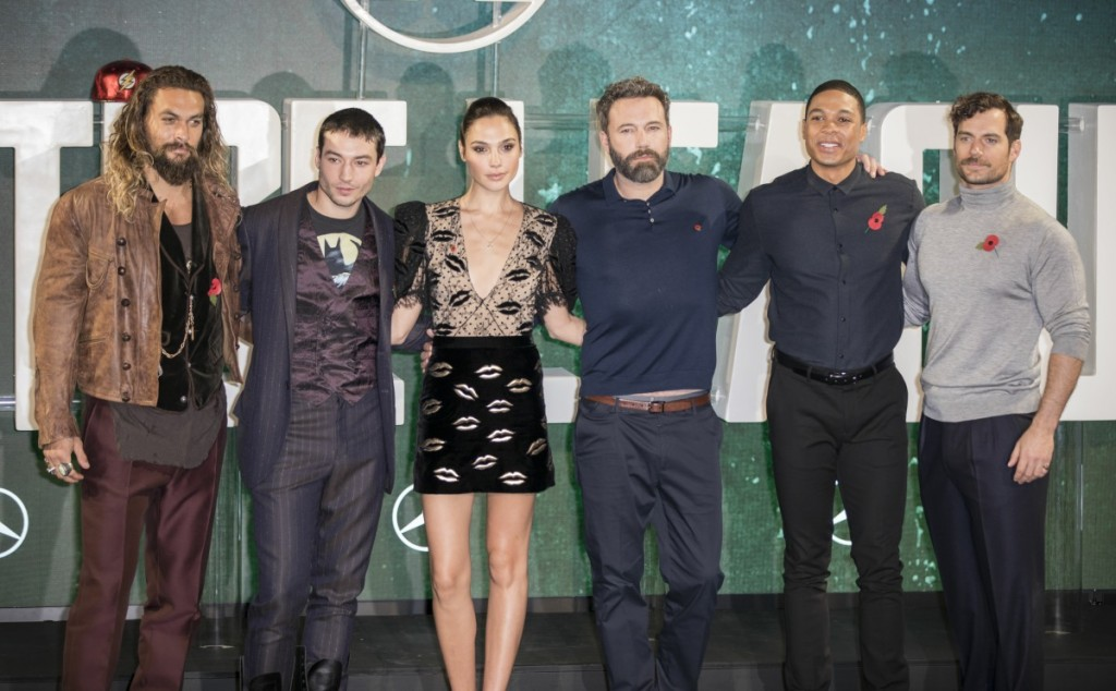 'Justice League' film photocall, London, UK